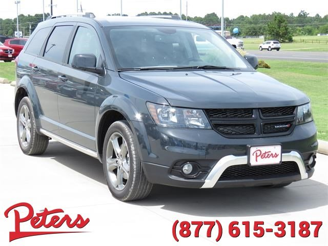 new 2017 dodge journey crossroad plus suv in longview 7d1224 peters chevrolet chrysler jeep. Black Bedroom Furniture Sets. Home Design Ideas