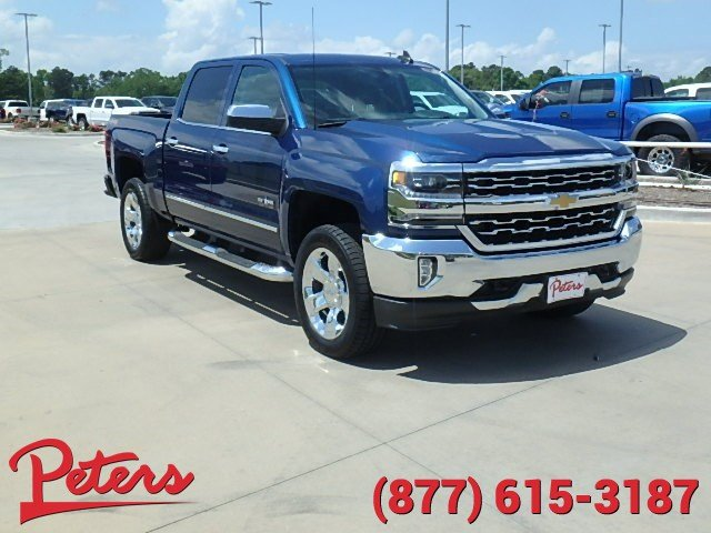 pre owned 2016 chevrolet silverado 1500 ltz crew cab in longview 7459p peters chevrolet. Black Bedroom Furniture Sets. Home Design Ideas